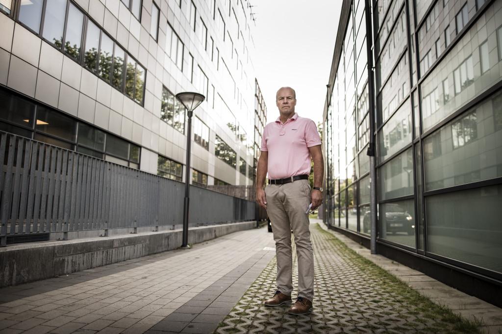 Kommisarie Pål Sjölander. Foto: Anders Deros
