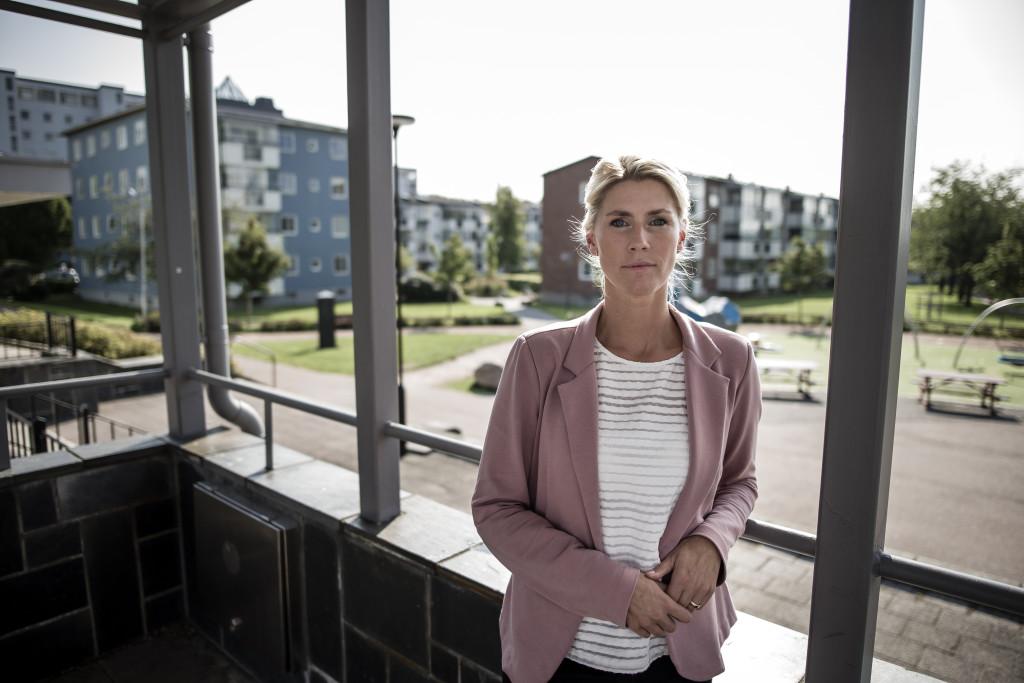 Ylva Morén, områdeschef för bistånds- och myndighetsutövning vid stadsdelsförvaltningen västra Hisingen. Foto: Anders Deros
